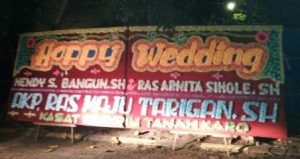 toko karangan Papan bunga di Gemilang Jaya Batang Tuaka